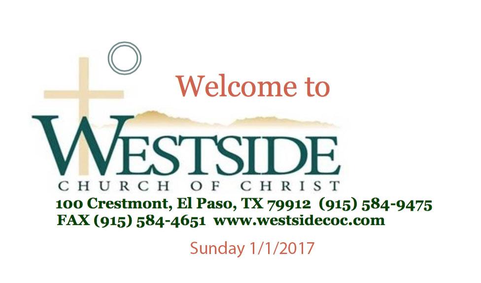 Westside Handout 1/1/2017