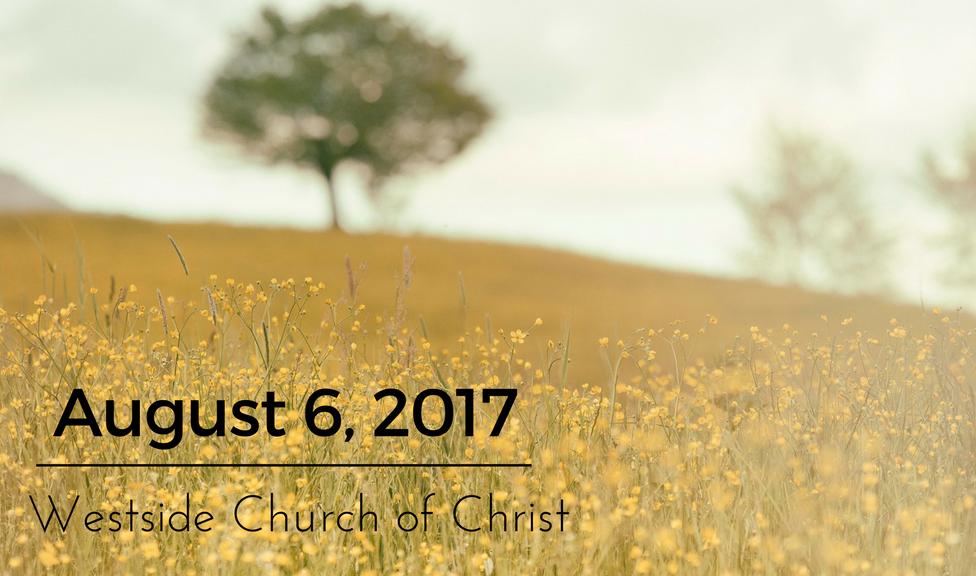 Westside News for August 6, 2017