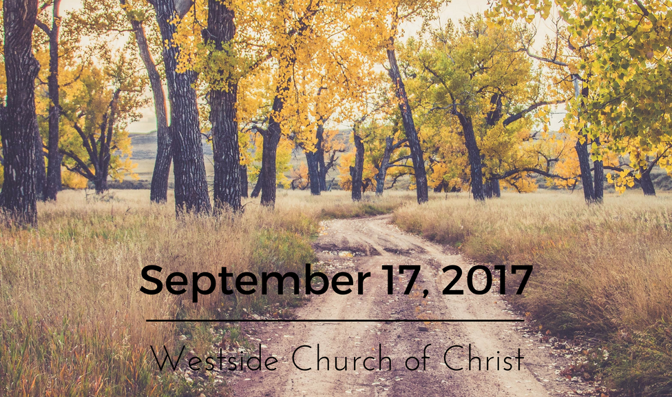 Westside News for September 17, 2017