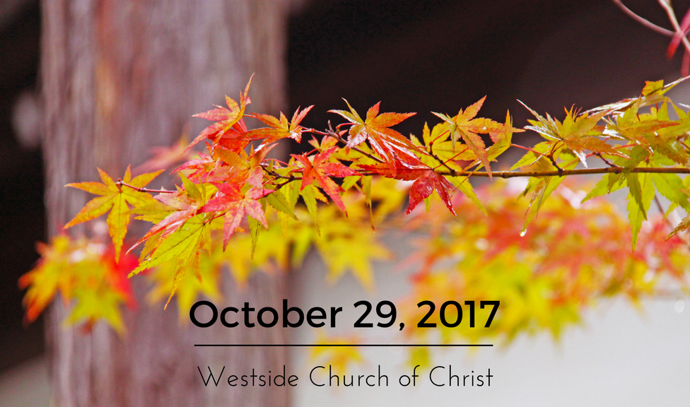 Westside News for October 29, 2017