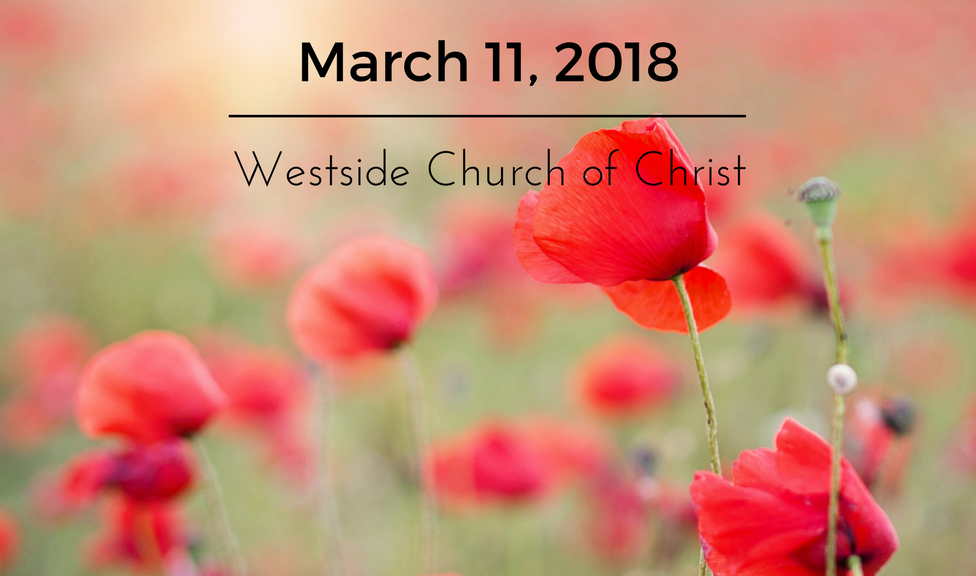 Westside News for March 11, 2018