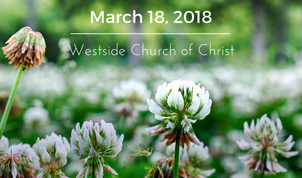 Westside News for March 18, 2018