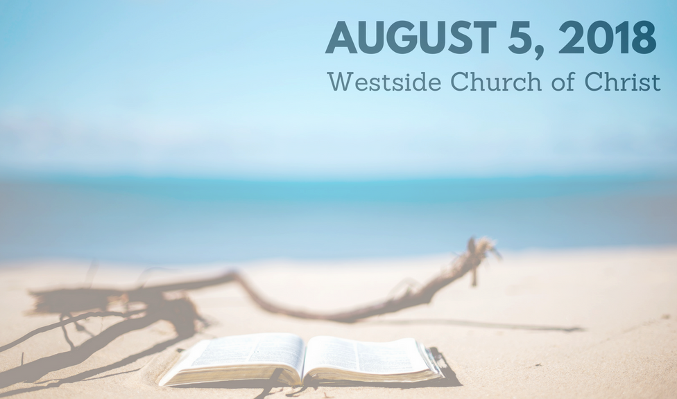 Westside News For August 5, 2018