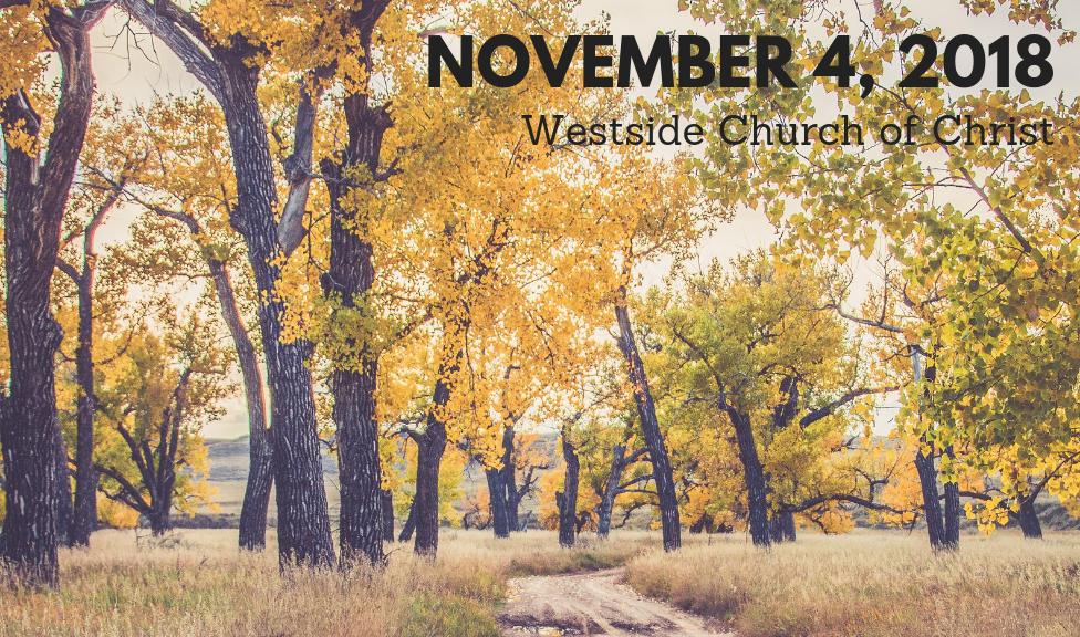 Westside News for November 4, 2018