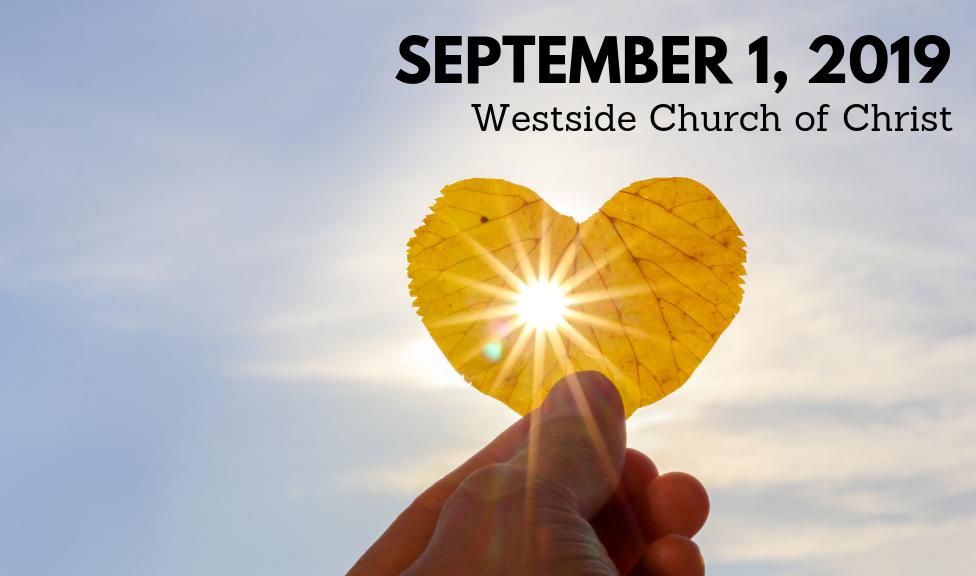 Westside News for September 1, 2019