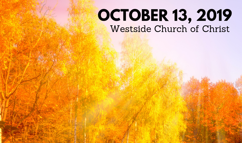 Westside News for October 13, 2019
