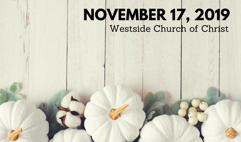 Westside News for November 17, 2019