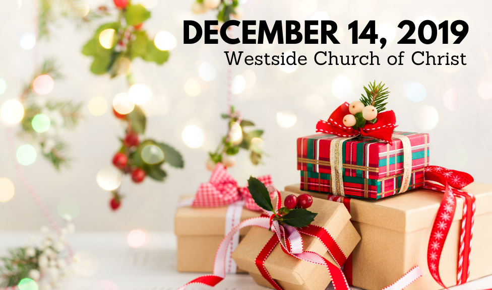 Westside News for December 14, 2019