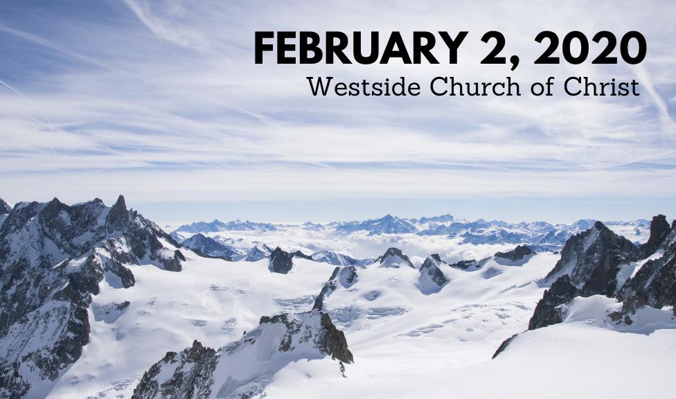 Westside News for February 2, 2020